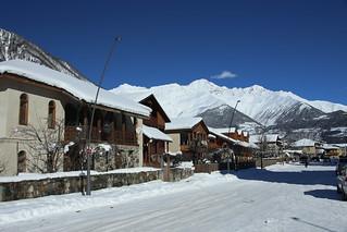Mestia village