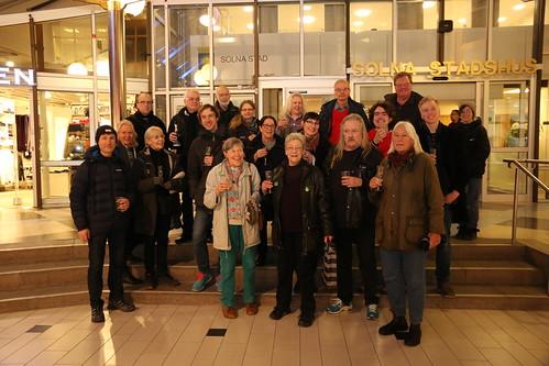 Nätverket Rädda Råstasjön firar domen