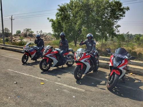 travel india honda march ride riding biking karnataka touring belur cbr 2016 650f cbr650f
