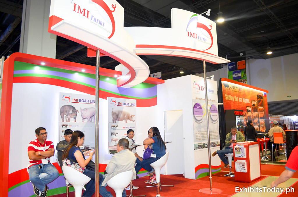IMI Farms Exhibit Booth