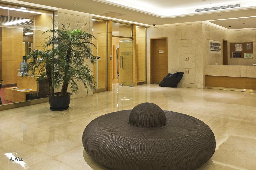 Fitness centre lobby