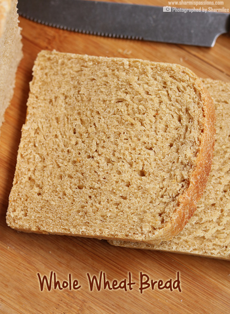 Whole Wheat Bread Recipe Recipe