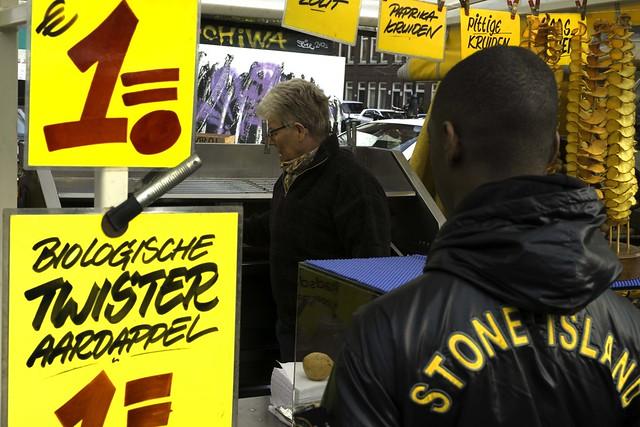 Potato, potato, potato.... The Harley Davidson of the market stalls
