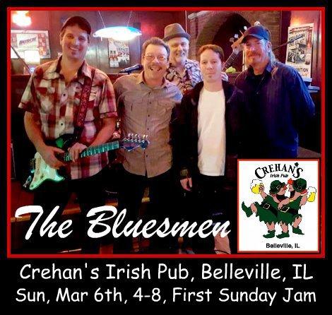 The Bluesmen 3-6-16