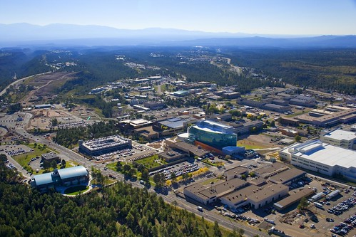 Los Alamos National Laboratory - aerial view