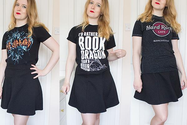 Capsule wardrobe spring update tshirts 2