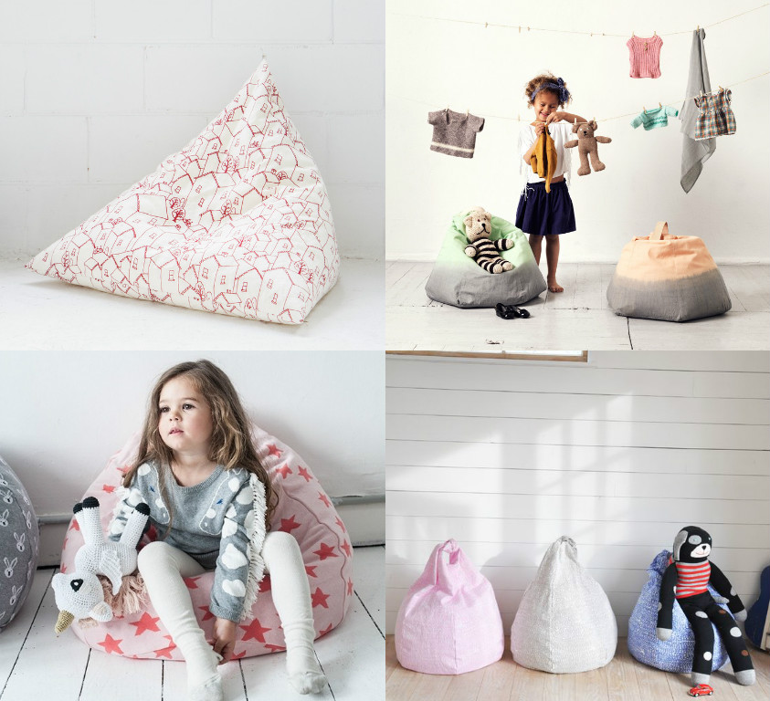 The best bean bags & floor cushions for kids - Paul & Paula