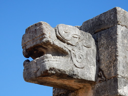 Chichen Itza - snake