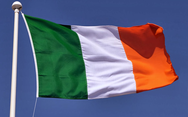 Irish Tricolour Flag
