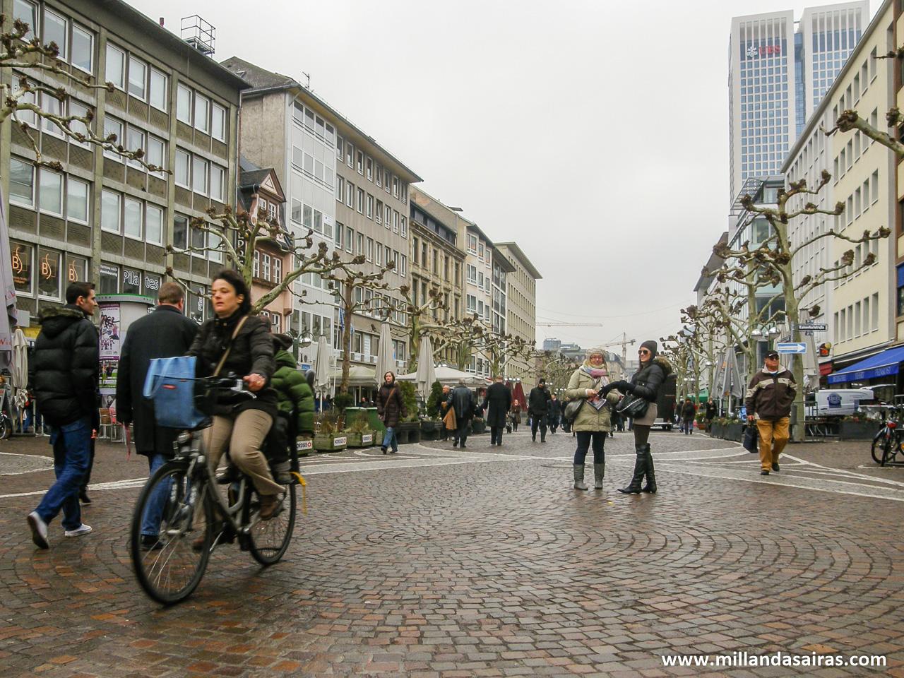 Calles de Frankfurt