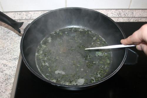19 - Flüssigkeit einkochen lassen / Let fluid reduce