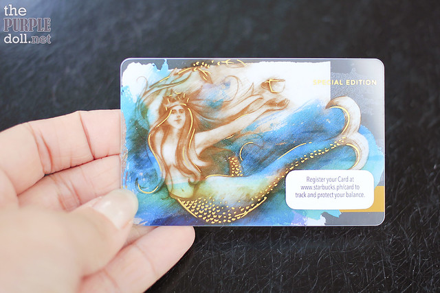 Starbucks Limited Edition Siren Card