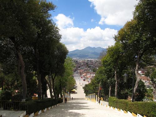 San Cristóbal de las Casas: vue depuis la colline de Guadalupe
