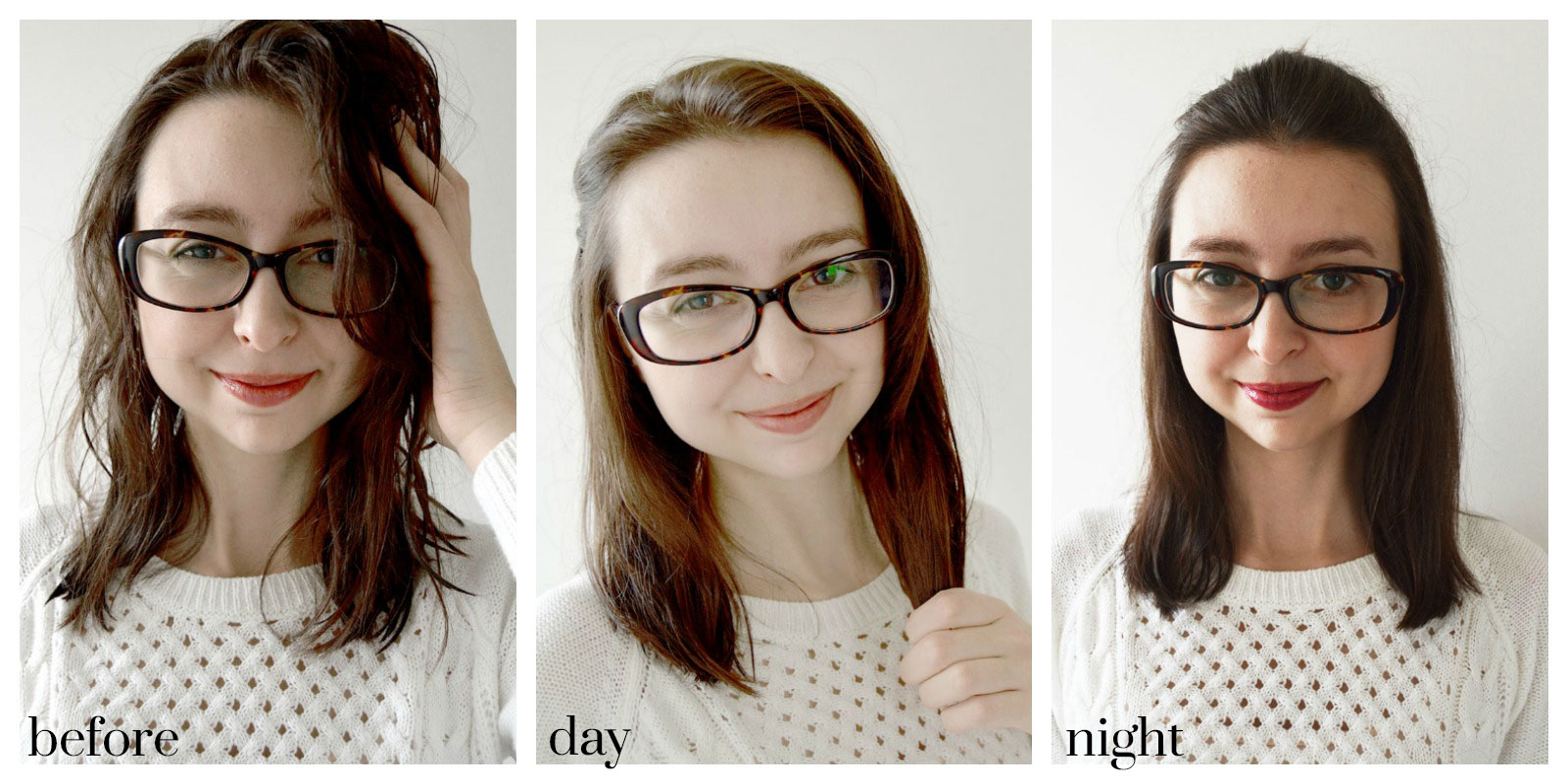 Easy Day to Night Hair Tutorial