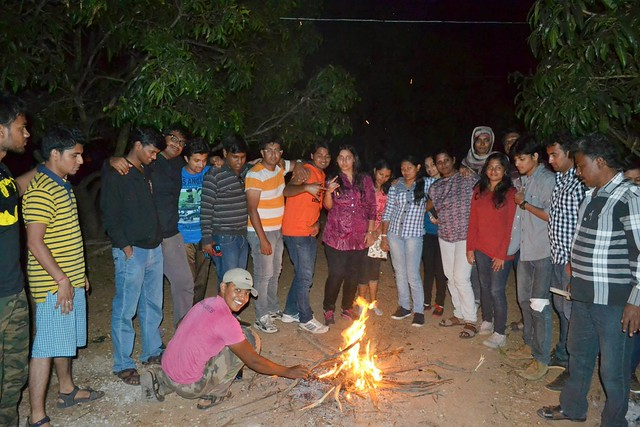 Night Trekking at Ramanagara Bangalore