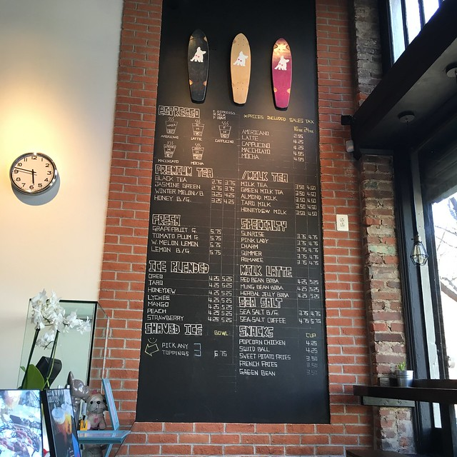 Lulu Cafe Menu
