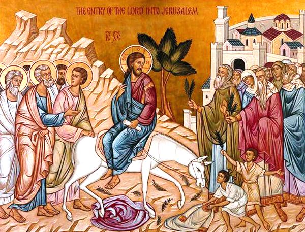 intrarea Domnului in Ierusalim 2016