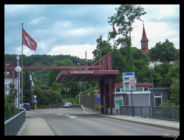 Qué ver qué hacer suiza Bad Zurzach - Aduana suiza