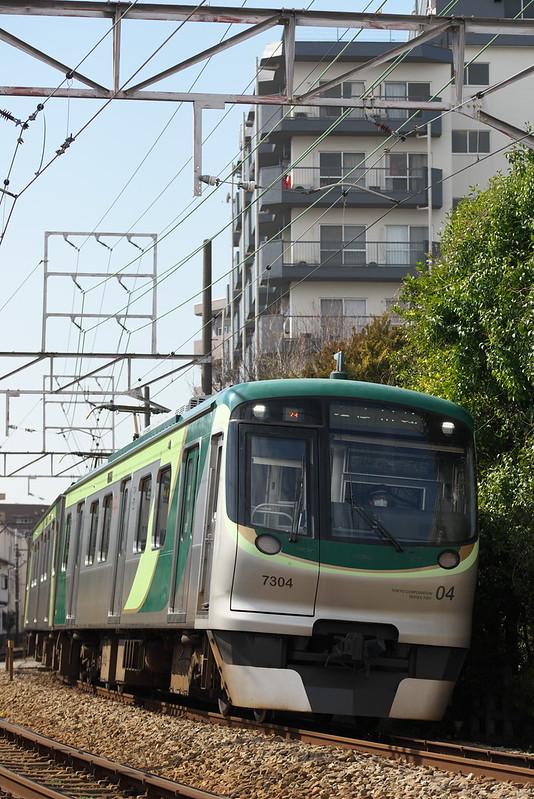 Tokyo Train Story 東急多摩川線 2016年3月26日