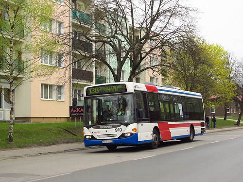 bus autobus scania olsztyn mpk cl94ub zdzit