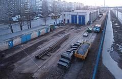 Saint-Petersburg tram service depot Pridoroznaya alleya