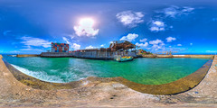 Main Port in Nauru - high quality virtual view in description