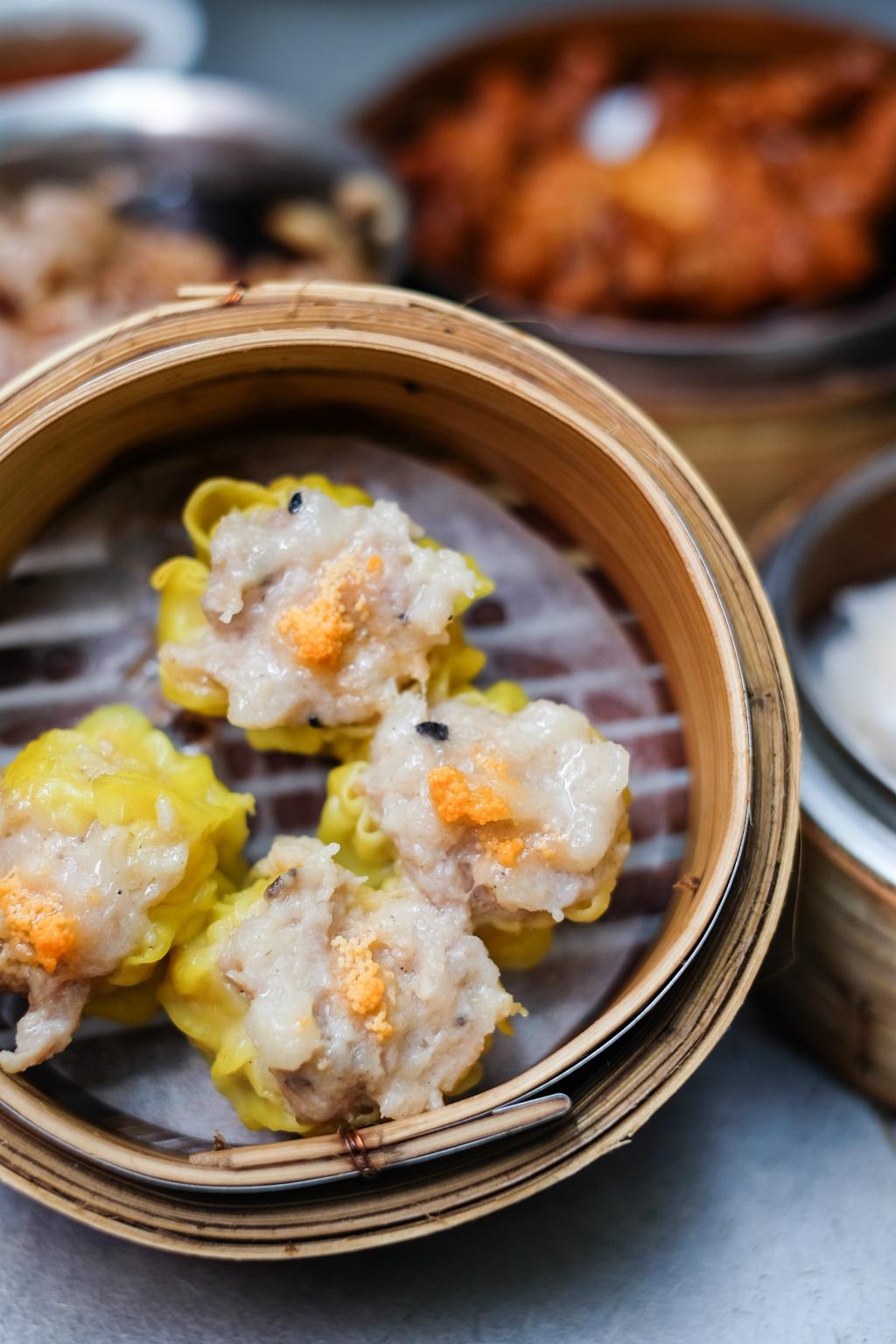 Saam Hui Yaat Dim Sum Restaurant's crab meat siu mai