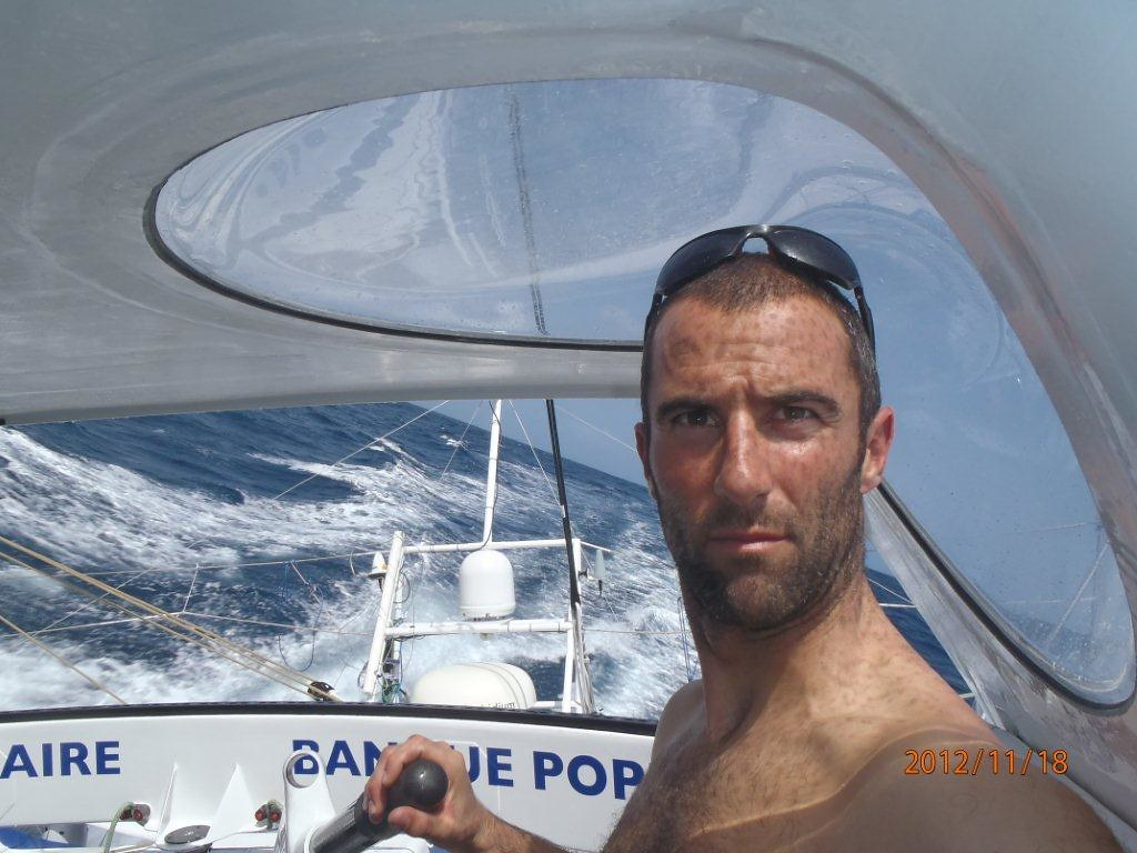 Photos reçues du bord - Vendée Globe 2012 -18/11/2012 / BPCE
