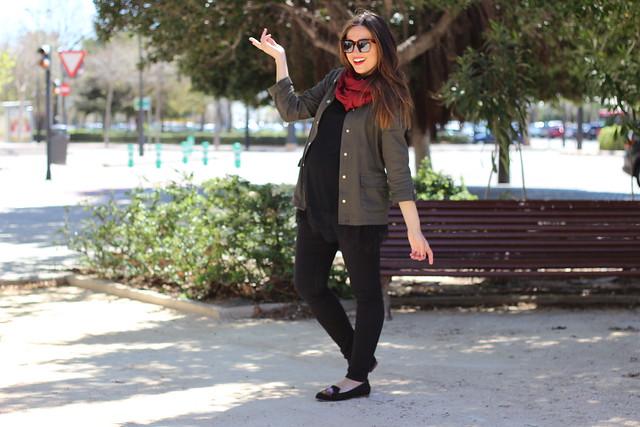 Sobrecamisa verde militar_ Rojo Valentini Blog (55)