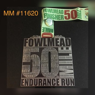 Medal Monday: my first 50 miler! 20 miles further than I had ever run before 😄 11:42:08 Thanks @trainasone for the on-going support! Looks like the 50 mile function works....now to test the 100! #trainasone #trainsmarternotharder #runstrong #runlong