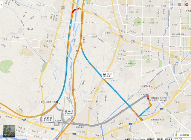FireShot Capture 139 - 中山高速公路 至 402台中市南區大慶街二段49號 - Google 地圖_ - https___www.google.com.tw_maps_dir