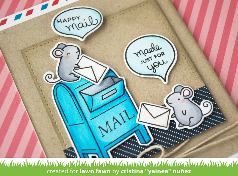 Happy mail - detail