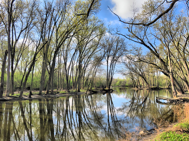 Fox River slough HDR 20160421