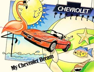 1988 Chevrolet Coloring Book (Canada)