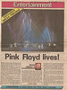 Pink Floyd Toronto Sun Sept 9 1987