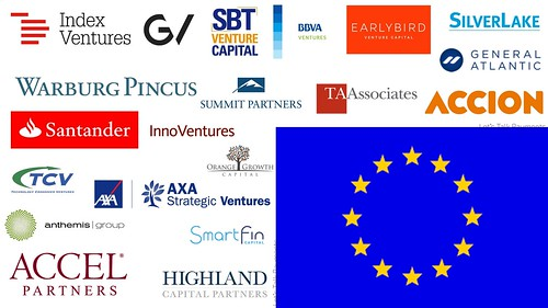 "AXA Strategic Ventures as one of the ""hottest Fintech investors"" in Europe"