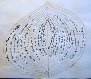 Week 52 - Words as a Layer - Onion - Valentine - Carol Ann Duffy