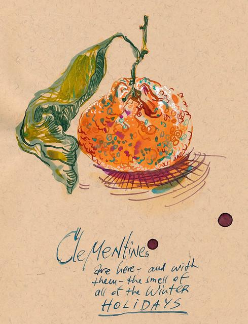 Sketchbook #93: Clementine