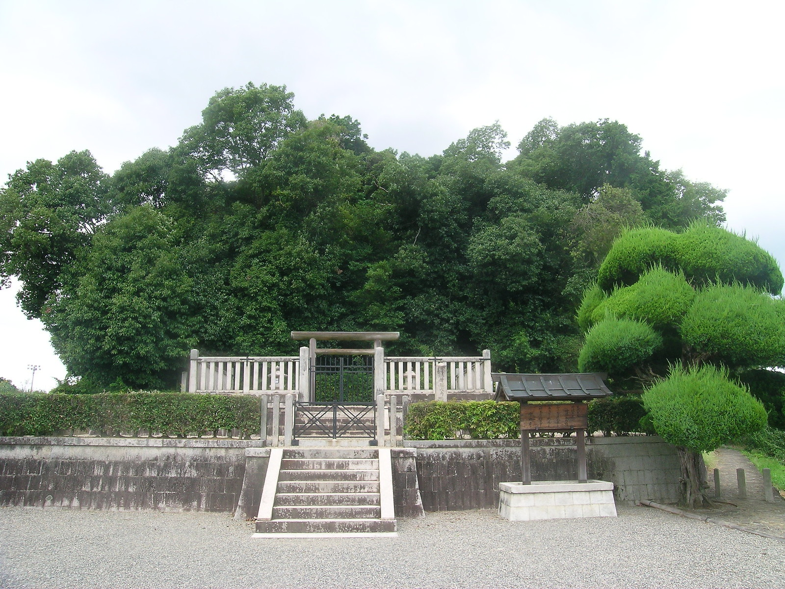 Grave of Emperor Tenmu and Empress Jito, Asuka, Nara