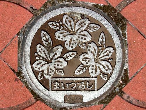 Maizuru Kyoto, manhole cover 3 (京都府舞鶴市のマンホール3)