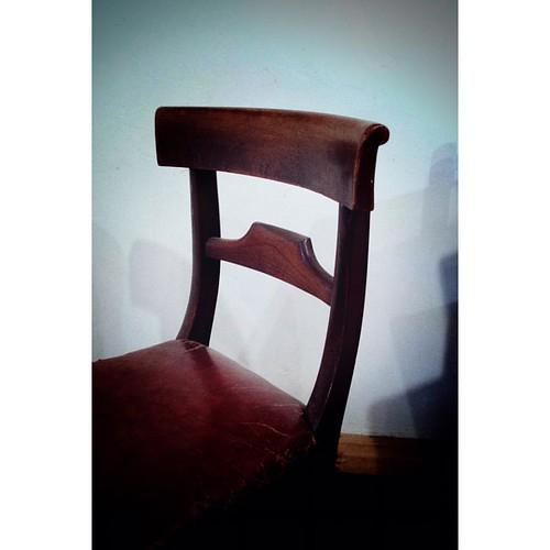 ヴィクトリアンの椅子 #victorian #chair #アンティーク #チェア