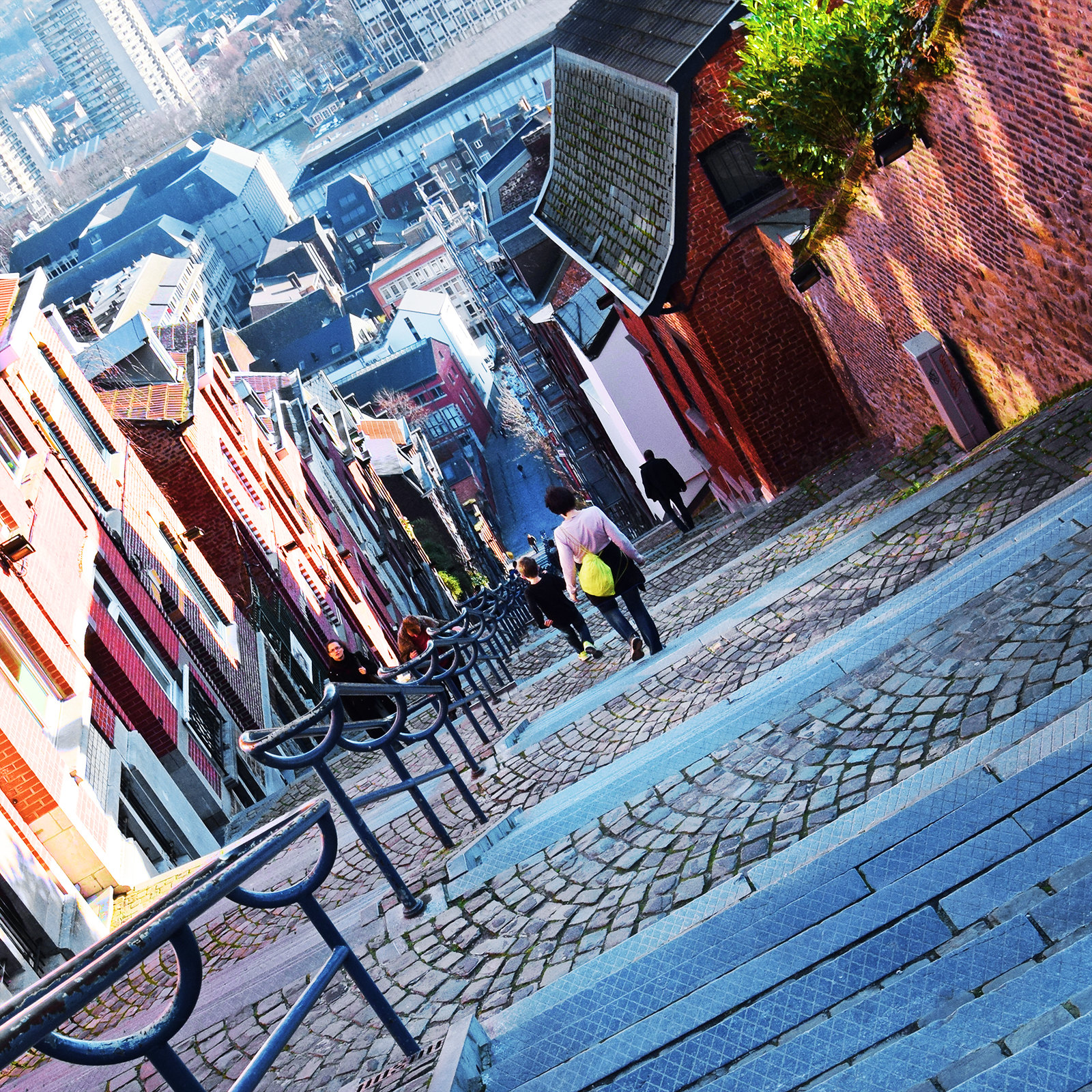 Stairs in Liege