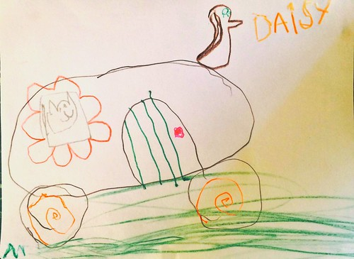 Caravan - by Daisy Belle - aged 5