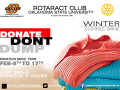OSU Rotaract Club holding winter clothes drive