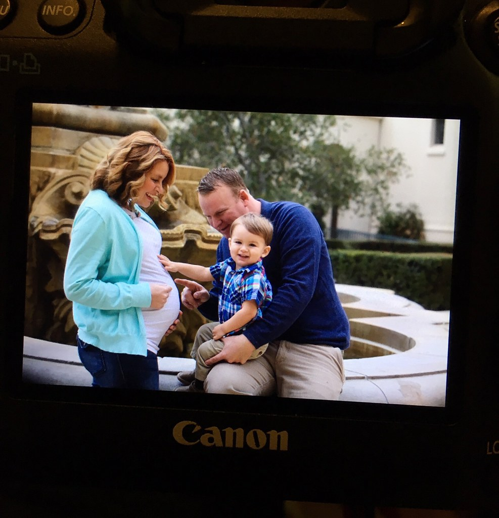 Back of the camera maternity sneak peak