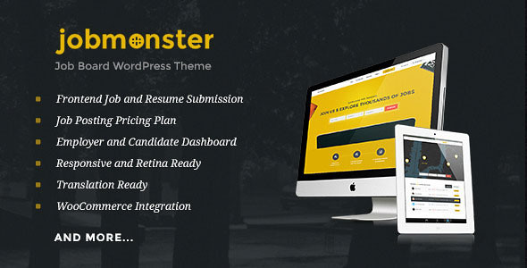 Jobmonster v4 4 1 - Job Board WordPress Theme