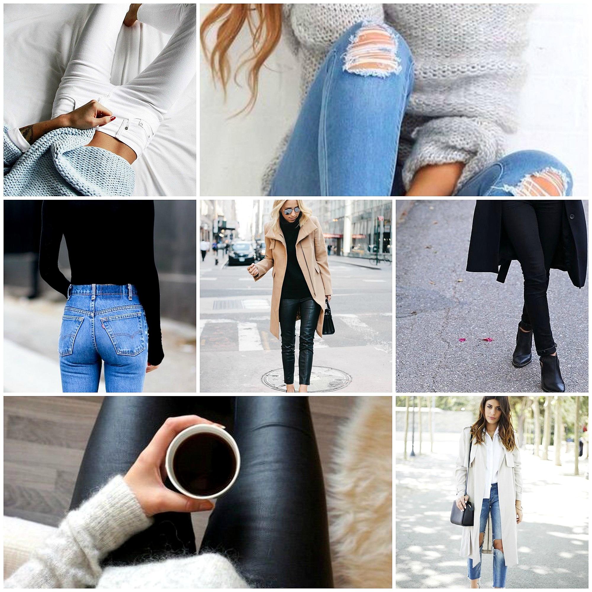 jeans wardrobe