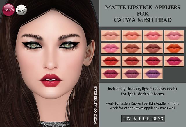 Catwa Applier Matte Lipstick