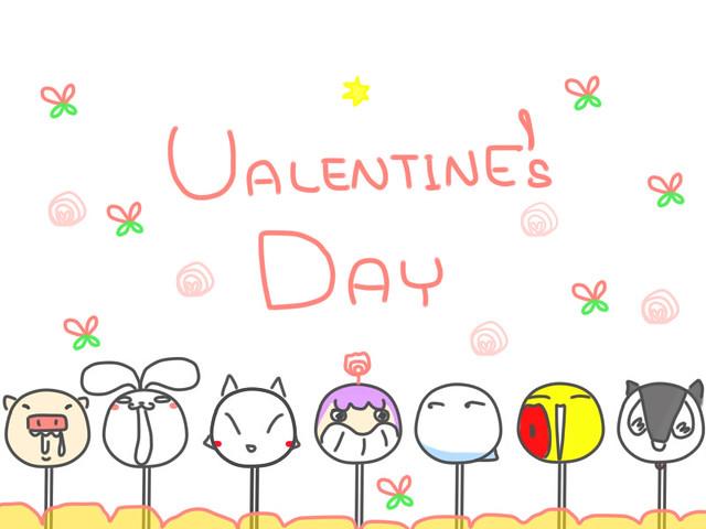 CIRCLEG HAPPY VALENTINE S DAY CHINESE 2016 圖文 繪圖 插畫