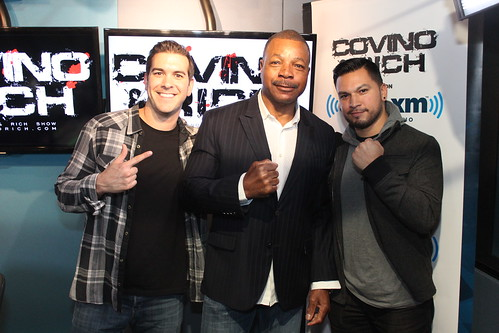 Carl Weathers with Covino & Rich